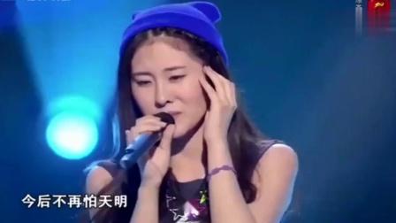 女生一开口,四位导师都转身了,难道邓紫棋来中国好声音了