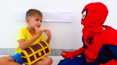 什么情况!萌娃小可爱变身成超级英雄为什么被关起来了呢,萌娃:快放我出去!