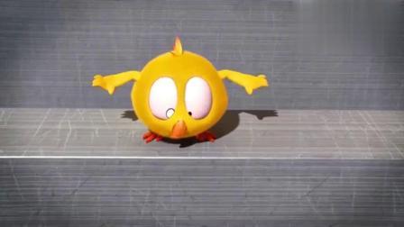 小鸡Jaki:小黄鸡遇到了面包机,结果真是悲惨!