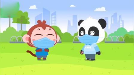 蜡笔精灵:幼儿儿歌,儿童儿歌,幼儿故事小朋友正确戴口罩的方法