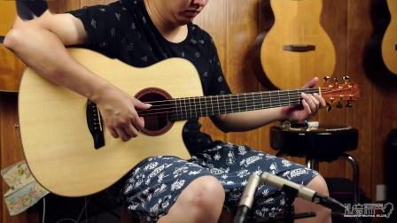 Maestro 美诗特私人收藏系列victoria 瑞士云杉-絮纹龙眼木 手工吉他评测