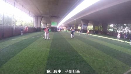 87联盟足球俱乐部比赛集锦-2020080802