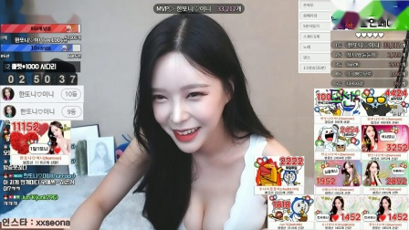 AfreecaTV主播韩豆妮热舞视频精彩剪辑131148