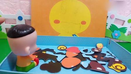 小猪佩奇玩具:变脸娃娃的表情真多啊