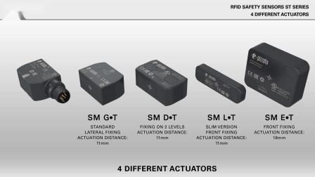 Pizzato ST系列RFID安全传感器