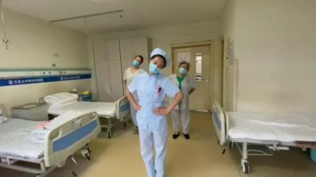 黑龙江呼兰中德骨科研究所护士带领患者做颈椎保健操