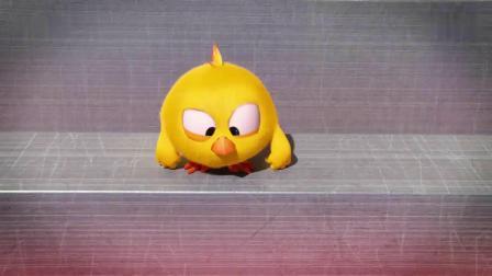 小鸡jaki在哪:小鸡走在面包机上,地面越来越热,尾巴都着火了!
