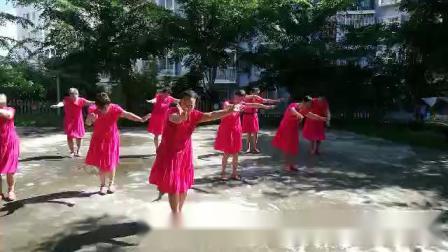 海南省五指山市候鸟花园老年舞蹈队 蓝色天梦舞蹈