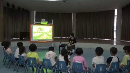 青田县东源镇中心幼儿园章群丽中班防溺水安全教育活动《落水的小猫》