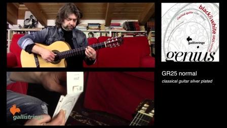意大利Gallistrings佳利 昵称鸡弦 各款古典吉他弦音色试听 Nazzareno Zacconi 弹奏