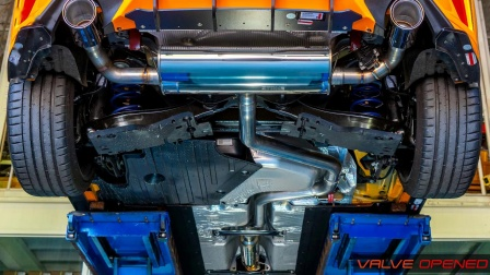 Ford Focus ST 2.3t  Stone Exhaust System
