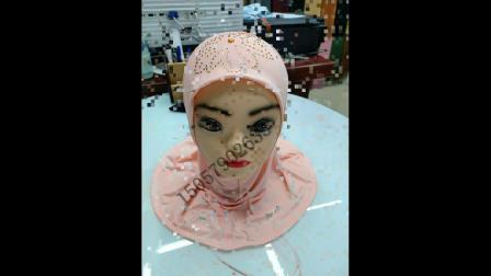 中东沙特阿拉伯回族大袍围巾头巾雪纺围巾披肩