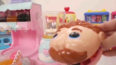 宝宝巴士:玩具作为资深吃货,大嘴叔叔做的果汁沙冰也是很享受啊!