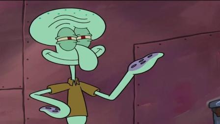 海绵宝宝:章鱼哥的洒水装置,触手真多,都不用买洒水壶了!