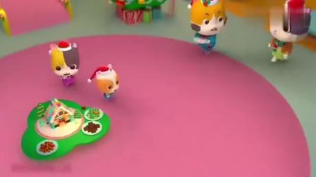 宝宝巴士:小猫咪很喜欢姜饼人,但是小朋友们不能说谎哦!