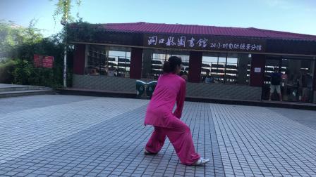 傅老师心意混元晨练视频