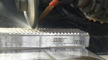 数控拉刀磨床-前刃面修磨