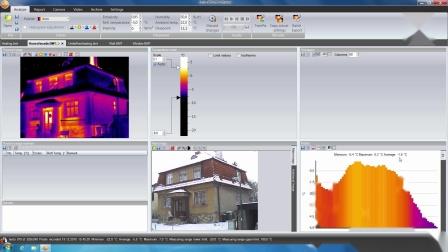 德图testo IRSoft热成像软件可以在电脑端轻松处理红外图像
