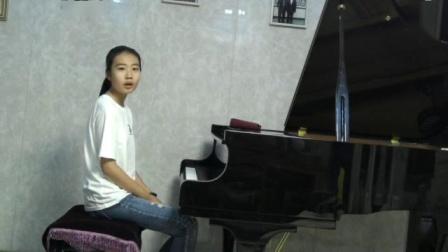 优秀钢琴少年刘思禹10岁演奏8级《库朗特》指导:袁亚青(香港国际钢琴英才导师、大同大学教师)