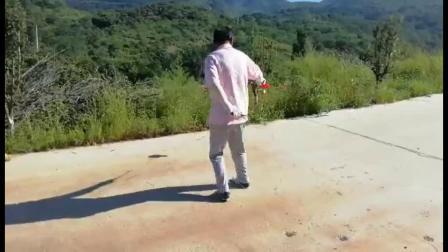 蓟州行 燕山山脉抖空竹 表演者 王治坤