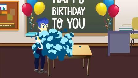 阿坤把生日蛋糕吃了,是谁的生日?小马国女孩游戏