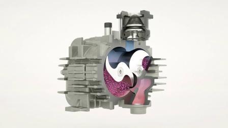 爪式干式真空泵式如何工作的?