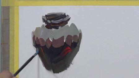 【郑州艺考美术培训】郑州巅峰画室—水粉罐子单体