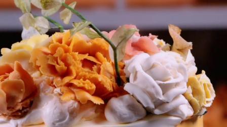 韩式裱花蛋糕-壹度可可西点烘焙学院