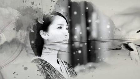 《秋怨》MV 水墨中国风  付娜吟唱版