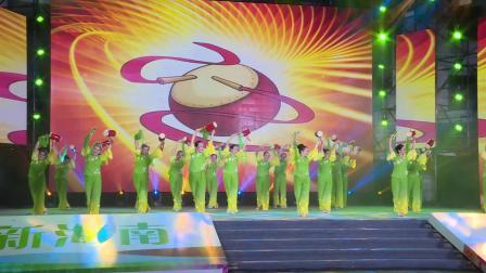 2020年8月18日,美好新海南、.舞动自贸港,五指山市广场舞《花鼓舞》比赛实况。
