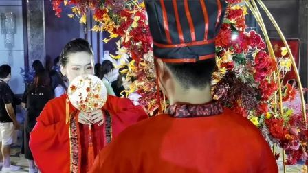 """全国第17届婚庆职业技能大赛总决赛---""""汉服婚礼展示"""""""