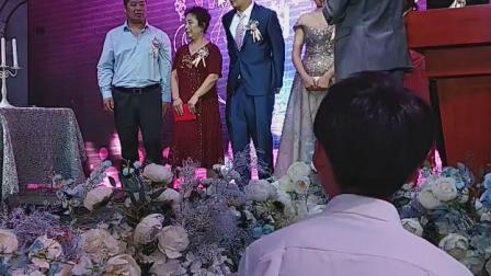 上哈尔滨参加大小姑儿子结婚典礼