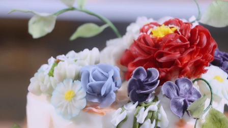 新手学做生日蛋糕裱花-壹度可可西点烘焙学院