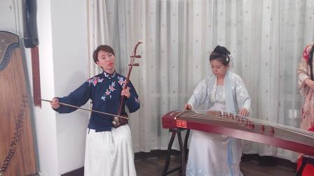 古装汉服仙女唯美演奏周董名曲《青花瓷》,展现最美中国风