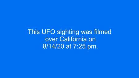 【UFO】乘客在弗吉尼亚8142020号航班拍摄的UFO视频