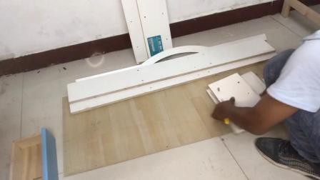 五层桌椅安装视频