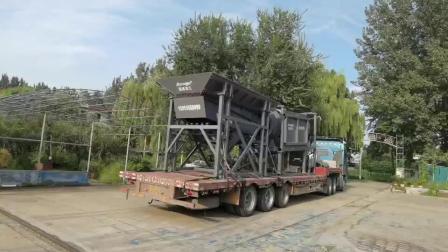 大型滚筒洗石机厂家发货