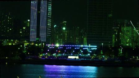 庆祝深圳市经济特区建立40周年人才公园无人机表演8