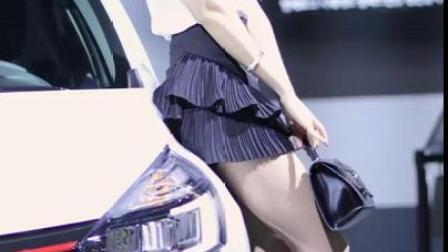 釜山车展美女车模