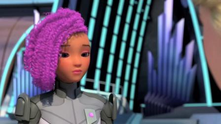 芭比之星际大冒险 芭比的超刺激比赛 她们学会了团结的力量更大