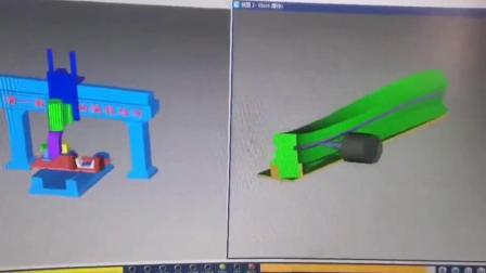 弯曲木家具CNC五轴数控编程培训-滴一数控学员打样作品15916861427