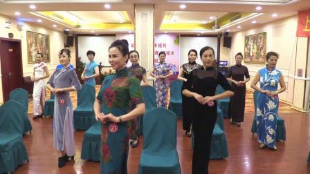优雅仪态身韵组合《旗袍女人》(一组)上海艺术模特第十三期高级双认证培训班结业典礼