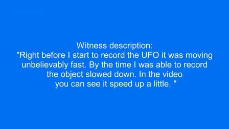 【UFO】俄亥俄州克利夫兰上空视频