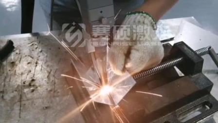 2mm镀锌板,1000W送丝焊接