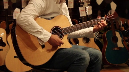 新加坡手工琴Maestro美诗特吉他VI-IR印度玫瑰木000桶型音色试听