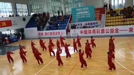 (20191221)42式太极拳竞赛套路--(州太协年会--秋阳)