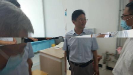 兵团党委副梁传军到第二师铁门关市人民医院调研
