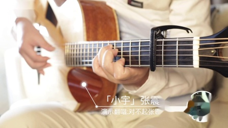 【唯音悦】狐狸老师深情演绎,吉他弹唱张震岳《小宇》