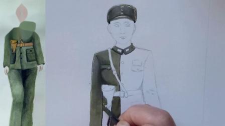抗日战争时期的国军女军官