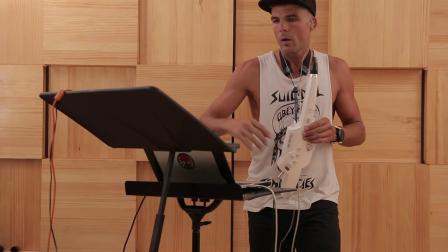 A unique solo performance featuring the Roland AE-10 Aerophone with a DAW